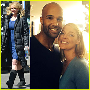 Katherine Heigl Is Really Glowing as Mark Tallman's Fiancee!