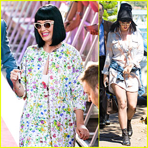 Katy Perry Talks Miley Cyrus' Infamous Tongue & Kissing Her!
