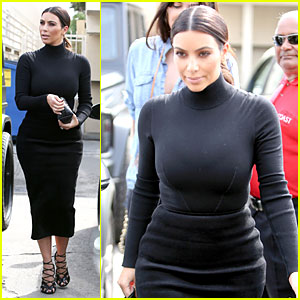 Kim Kardashian Shows Her Curves at Joan's on Third!