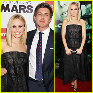 Kristen Bell & Chris Lowell Glam Up the 'Veronica Mars' NYC Screening!