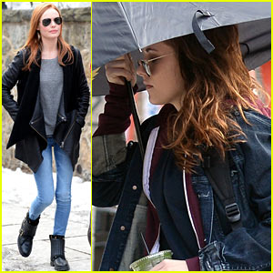 Kristen Stewart Joins Red Head Kate Bosworth for Another Day of 'Still Alice'