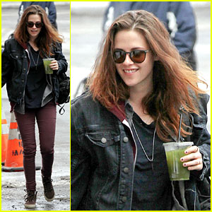 Kristen Stewart Spotted on 'Still Alice' Set in New York City!