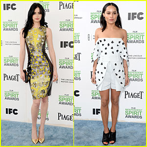 Krysten Ritter & Zoe Kravitz Brighten the Day at the Independent Spirit Awards!