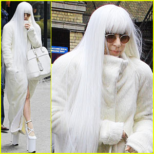 Lady Gaga: It Feels So Good to Sweat!