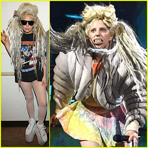 Lady Gaga Uses an Expletive to