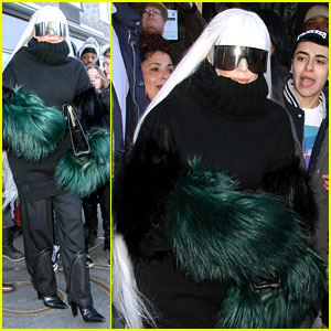 Lady Gaga Vacuums Her Sinuses Away: Her Cold Will Not Win!
