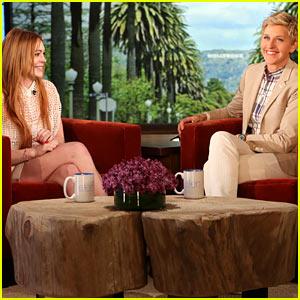 Lindsay Lohan Acknowledges Infamous List of Men, Says She's Single on 'Ellen'