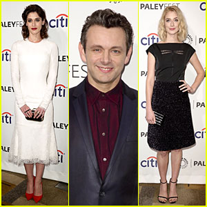 Lizzy Caplan & Michael Sheen Are 'Masters of Sex' at PaleyFest!