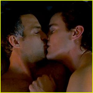 Mark Ruffalo & Matt Bomer Kiss in 'Normal Heart' Teaser Trailer