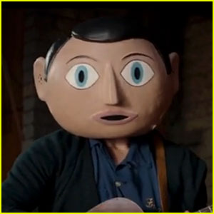 Michael Fassbender (Sadly) Wears a Giant Fake Head in 'Frank' Trailer