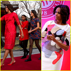 Michelle Obama Travels Around China - Three Days of Photos!