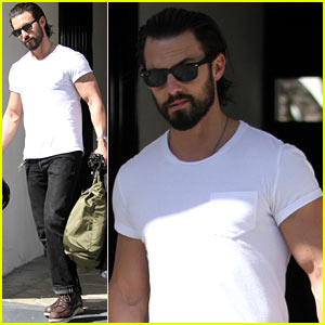 Milo Ventimiglia & His 'Visitors' Cast Are Excited to Start Filming!