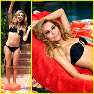Naya Rivera Shows Off Amazing Bikini Body at Bongo Pool Party
