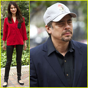 Olga Kurylenko Marks Start of 'Perfect Day' Filming at Photo Call
