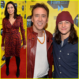 Rosario Dawson & Nicolas Cage Support 'Joe' at SXSW 2014
