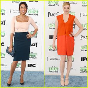 Rosario Dawson & Greta Gerwig: Stunning Presenters at Independent Spirit Awards!