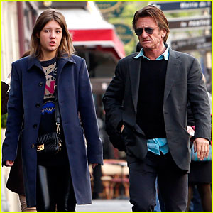 Sean Penn Spends Another Day with French Actress Adele Exarchopoulos!