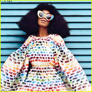 Solange Knowles Is Full of Color in 'Harper's Bazaar' Feature!