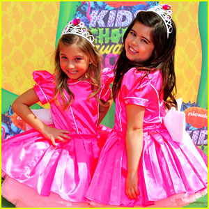 Sophia Grace & Rosie - Kids' Choice Awards 2014