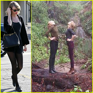 Taylor Swift & Karlie Kloss Go On a Road Trip - See All the Pics!