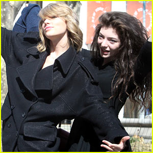 Taylor Swift & Lorde Are a Pair of Super Silly Besties in N