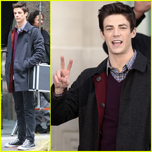 The Flash's Grant Gustin Can't Wait to Be Reunited with His Cute Pup!