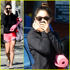 Vanessa Hudgens Steps Out f