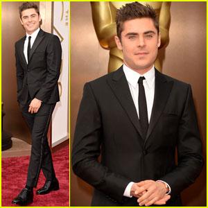 Zac Efron - Oscars 2014 Red Carpet