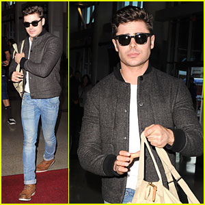 Zac Efron Vows to Accept MTV Movie Award Shirtl