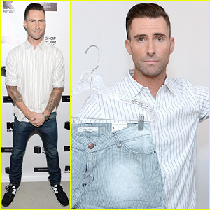 Adam Levine Celebrates Launch of New Women's Summer Collection for Kmart!