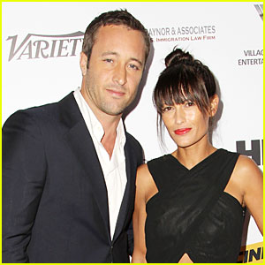 Alex O'Loughlin Marries M
