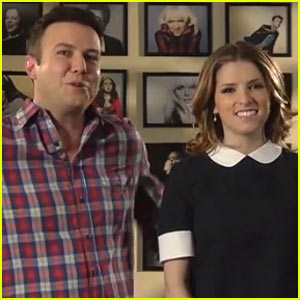 Anna Kendrick Harmonizes with Taran Killam for 'SNL' Promos - Watch Now!