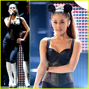 Ariana Grande Hits the Stage at Radio Disney Music Awards 2014