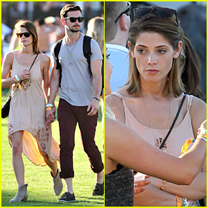 Ashley Greene & Paul Khoury Go to Their First Coachella Together!