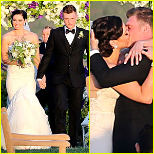 Backstreet Boys' Nick Carter is Married - Wedding Photos Here!