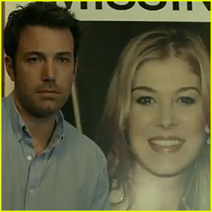 Ben Affleck Looks Super Serious in First 'Gone Girl' Trailer - Watch Now!