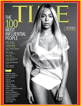 Beyonce Covers Time's 100 Most Influential People I