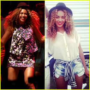 Beyonce Joins Sister Solange Knowles On Stage at Coachella - Watch Now!