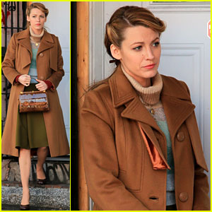 Blake Lively Back at Work on 'Age of Adaline' After Injury