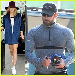 Bradley Cooper's Muscles Look Pumped Up, Suki Waterhouse Takes Flight Out of London