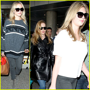 Cameron Diaz & Her 'Other Woman' Ladies Look Great Even After a Long Trans-Atlantic Flight!