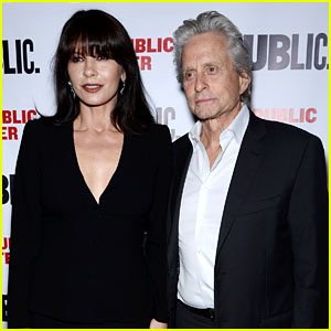 Catherine Zeta-Jones & Michael Douglas Make Rare Red Carpet Appearance Together!