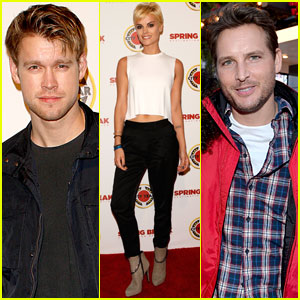Chord Overstreet & Peter Facinelli Are 'Glee'-ful at City Year Los Angeles Event with Jaimie Alexander!