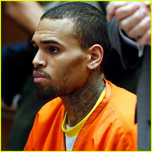 Chris Brown Can't Seem to Catch a Break While i