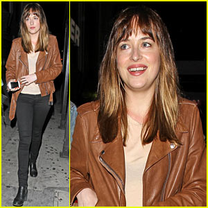 Fifty Shades of Greys Dakota Johnson Gets Ready for a Night of Music at Petty Fest 2014!