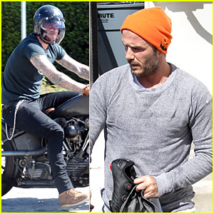 David Beckham Keeps His Amazing Body in Shape with SoulCycle!