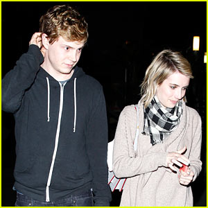 Emma Roberts & Evan Peters Haven't Started Planning Their Wedding Just Yet!