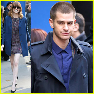 Emma Stone & Andrew Garfield Bring 'Spider-Man' to 'GMA,' Get Us Really Pumped for the Movie!
