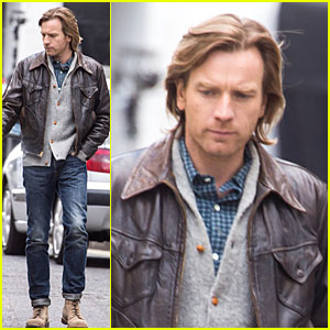 Ewan McGregor Looks Serious as 'Our Kind of Traitor'!