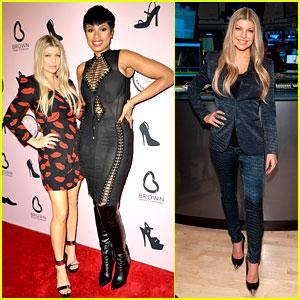 Fergie & Jennifer Hudson Celebrate Major Milestone for Brown Shoe Company!